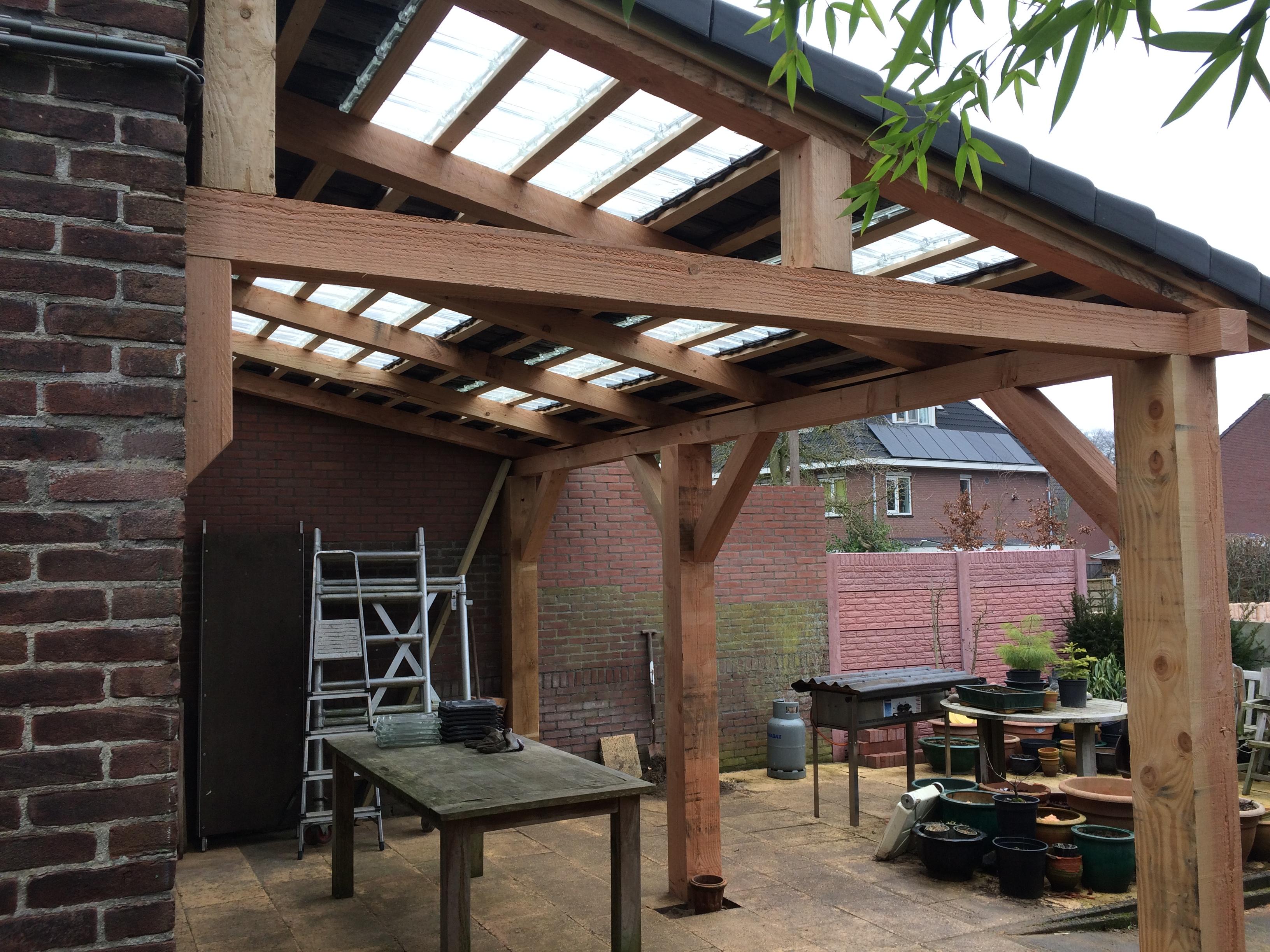Goudbouw Douglas houten veranda