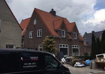 Verbouwing met dak